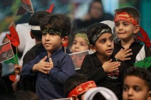نکاتی برای حضور کودکان در مراسم عزاداری
