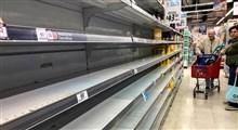 خالی شدن قفسه های فروشگاههای آمریکا