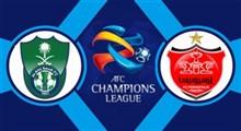 خلاصه بازی پرسپولیس 2 - الاهلی عربستان 0