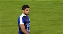 گل دوم پرسپولیس به گل گهر در هفته 14 لیگ برتر (گل به خودی)