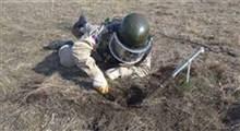 مین خنثی کردن در قرهباغ بهدست نیروهای روسیه