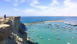 اسکله بریس در چابهار یکی از بزرگترین و زیباترین اسکلههای فعال جهان