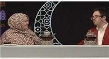 عاشقانههای یک بازیگر سندروم داون برای همسرش در برنامه زنده