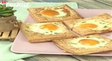 شیرینی|طرز تهیه تارت تخم مرغ