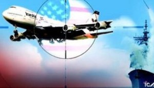 افشای دروغ آمریکا ؛ هواپیمای مسافربری ایران