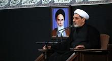 حجت الاسلام رفیعی/سخنرانی در حضور رهبر معظم انقلاب؛ شب عاشورا 98