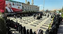 حضور حماسی مردم کرمان در صف رأیگیری در مزار حاج قاسم