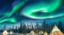 شفق قطبی یک پدیده ی خیره کننده در فنلاند