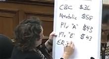 ببینید نماینده کالیفورنیا چطور رئیس CDC رو مجبور به رایگان کردن تست کرونا می کند؟