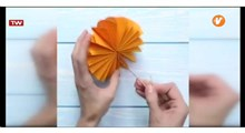 ترفند | آموزش ساخت گل کاغذی