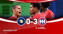 خلاصه بازی فوتبال لیون 0 - بایرن مونیخ 3