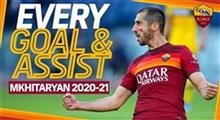 برترین گل باشگاه آاس رم در سال 2020