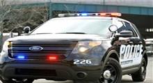 رد شدن پلیس آمریکا با خودرو شاسی بلند از روی مردم!