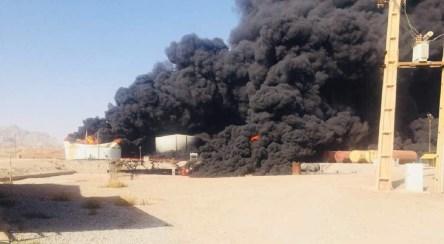 نخستین فیلم از انفجار در دانشگاه ارومیه