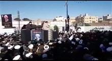 تشییع پیکر آیت الله مصباح یزدی توسط مردم انقلابی قم