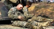 سربازان ضدیخ خوردند...!