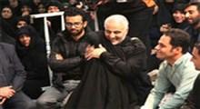 قولی که شهید حاج قاسم به دختر کوچک یک مدافع حرم داد