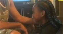 اشک یک دختر بچه سیاهپوست و ترسش از اینکه آیا فردا زنده خواهد بود یا نه؟!
