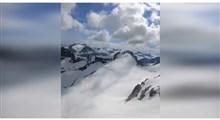 فیلم فوق العاده زیبا و متفاوت از رشته کوههای آلپ