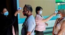 نحوه دستگیری رانندگان مشکوک به کرونا در چین