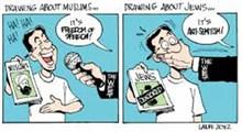 آزادی بیان فرانسوی!