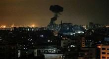 اسرائیل غزه را هدف قرار داد