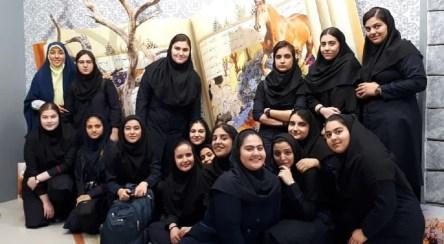 تجلی عشق به امام حسین (ع) | همخوانی دختران دبیرستانی