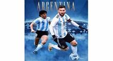 خاطره بازی مسی در کنار مارادونا