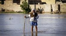 مشکلات مردم سیل زده خوزستان در گرمای 50 درجه