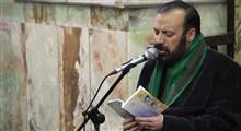 دعاخوانی مرحوم سید قاسم موسوی قهار در حضور رهبر معظم انقلاب