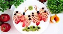 میوه آرائی|ایده های میوه آرایی با سیب