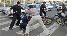 حمله وحشیانه با قمه به صاحب مغازه در کرمانشاه