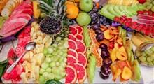 کلیپی دیدنی از تزیین میوه