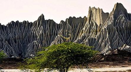 کوههای مریخی منطقه ای در کشورمان که شباهت به سیاره مریخ دارند.
