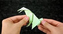 آموزش ساخت کلاغ اوریگامی