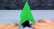 آموزش ساخت درخت اوریگامی