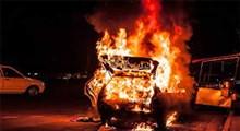 ویدیوی انفجار خودرو بمبگذاری شده در یافا
