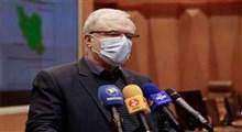 تلاش وزیر بهداشت برای بوسهزدن بر دست مدافع سلامت
