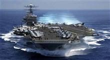 ناوهای آمریکا در تیررس موشکهای ایرانی