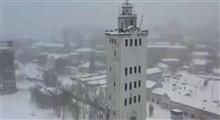 انفجار هدایت شده یک برج در روسیه