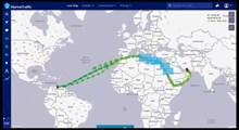 لحظه حرکت همزمان ۵ نفتکش ایرانی به سمت ونزوئلا