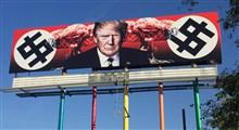 نصب بیلبورد شمارنده مرگ ترامپ در مرکز نیویورک