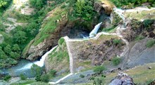 خروش زیبای آبشار شلماش سردشت