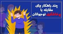 موشن گرافیک | چند راهکار برای مقابله با پرخاشگری در نوجوانان