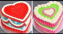 کیک|آموزش خامه کشی با ماسوره