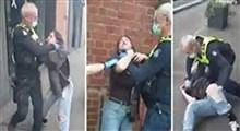 خفه کردن یک دختر به دلیل ماسک نداشتن!