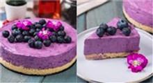 دسر|طرز تهیه چیز کیک بلوبری