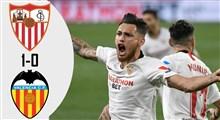 خلاصه بازی فوتبال سویا 1 - والنسیا 0