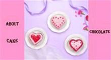 کیک|ایده های تزیین کیک قلبی