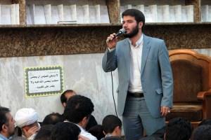 مداحی میلاد امام رضا(ع)/ مطیعی: باز هم زائرتان نیستم، از دور سلام (مدح)